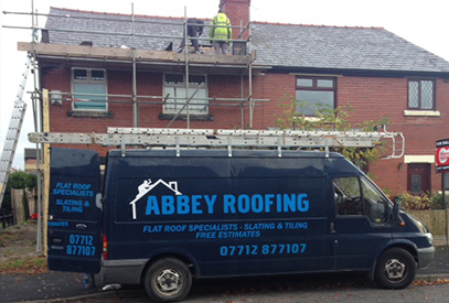 Slating Abbey Roofing
